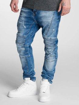 Bangastic Slim Fit Jeans Joel blauw