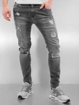 Bangastic Slim Fit Jeans Burundi grau