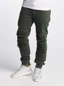Bangastic Slim Fit Jeans BGJS254 olivový