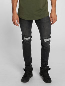 Bangastic Slim Fit Jeans Vinny zwart