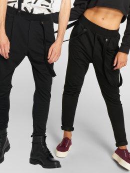 Bangastic Spodnie do joggingu Caro czarny