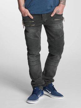 Bangastic Straight Fit Jeans Piet grau