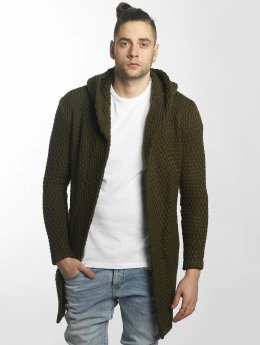Bangastic Strickjacke Long olive