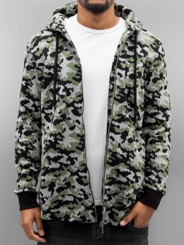 Bangastic Sweat capuche zippé Cona camouflage