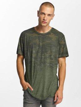 Bangastic t-shirt Fadin' olijfgroen