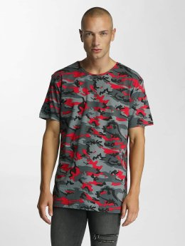 Bangastic Camo T-Shirt Red Camouflage