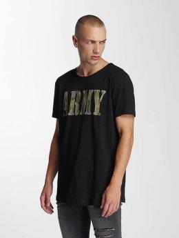Bangastic t-shirt Team Army zwart