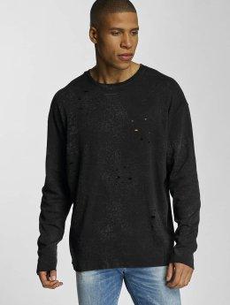 Bangastic trui Crinkle zwart
