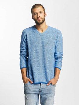 Bench Пуловер Structured синий