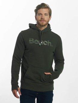 Bench Hoodie Camo Print green