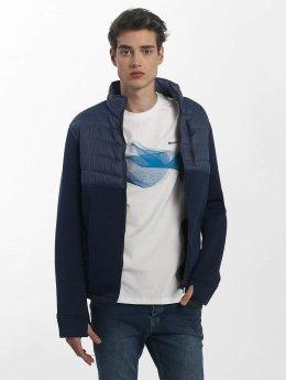 Bench Kurtki przejściowe Fabric Mix niebieski