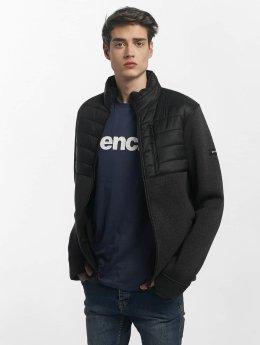 Bench Lightweight Jacket Fabric Mix black
