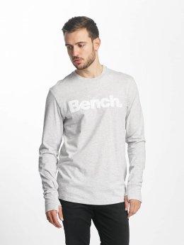 Bench Longsleeve Logo grau