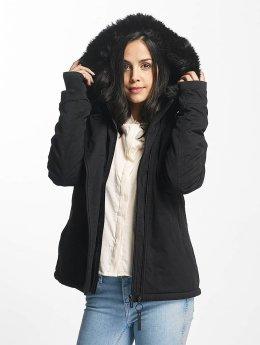Bench Manteau hiver Asymmetric Functional noir