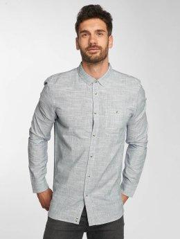 Bench overhemd Linear Neps blauw