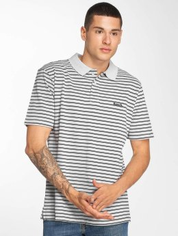 Bench Poloshirt Y/D Stripe grey