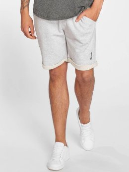 Bench Shorts Rolled grau