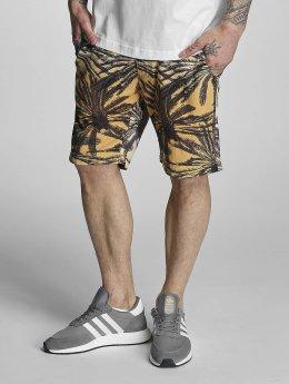 Bench Shorts Aop Palm schwarz