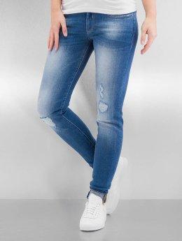 Bench Skinny Jeans Rip And Repair blau