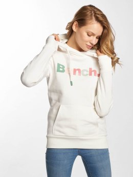Bench Sweat capuche Life blanc