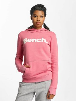 Bench Sweat capuche Crop Print rose