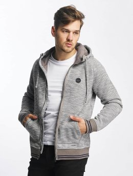 Bench Sweat capuche zippé Bonded gris