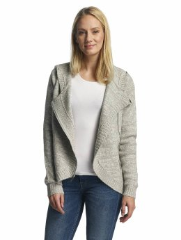 Bench Sweat capuche zippé Asymmetric gris