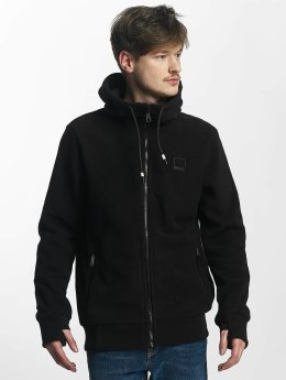 Bench Sweat capuche zippé Fleece noir