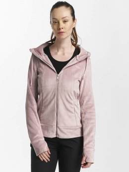 Bench Sweat capuche zippé Life rose