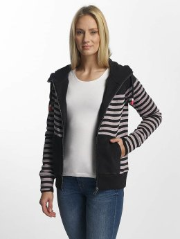 Bench Sweatvest Striped blauw