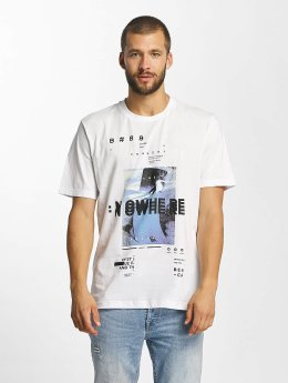 Bench T-Shirt Photoprint Graphic blanc