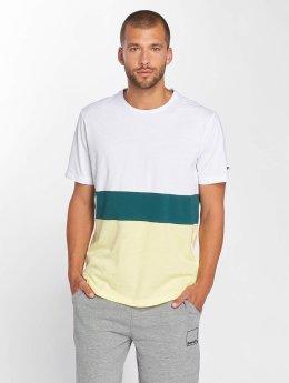 Bench T-Shirt Stripe blanc
