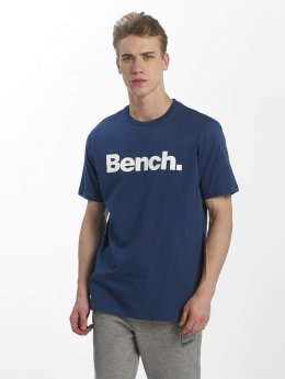 Bench T-Shirt Basic Corp blau