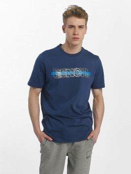Bench T-Shirt Logo Tee blau