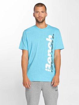 Bench T-Shirt Performance blau
