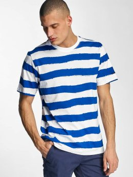 Bench t-shirt Handpainted Stripe blauw