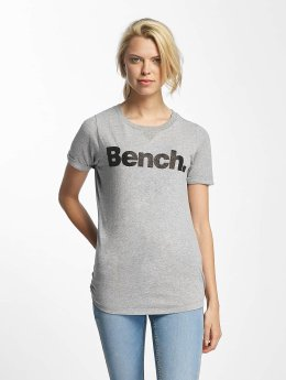 Bench T-Shirt Core Logo grau