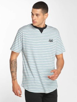 Bench t-shirt Striped grijs
