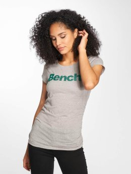 Bench t-shirt Logo grijs