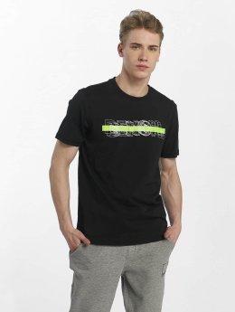 Bench T-Shirt Logo Tee schwarz