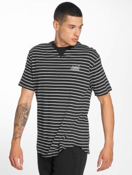Bench T-Shirt Striped schwarz