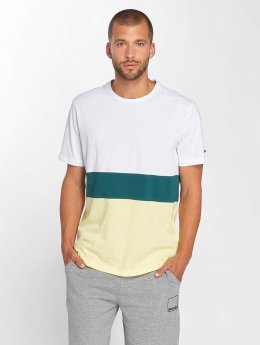 Bench t-shirt Stripe  wit