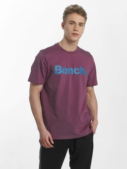Bench T-Shirty Basic Crop fioletowy