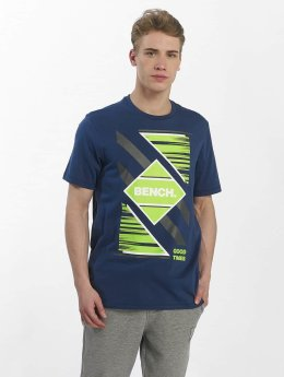 Bench T-Shirty Graphic Tee niebieski
