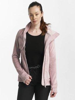 Bench Välikausitakit Fleece Funnel roosa