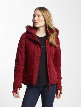Bench winterjas Asymmetric Functional rood
