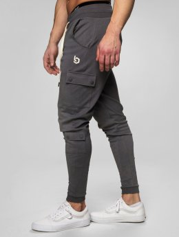 Beyond Limits joggingbroek Cargo  grijs