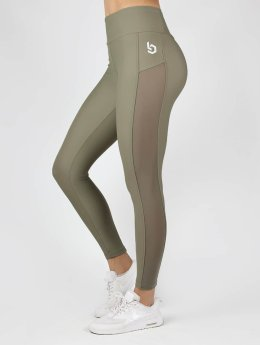 Beyond Limits Leggings High Waist Mesh khaki