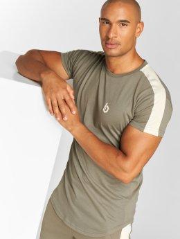 Beyond Limits Shirts desportes Foundation  caqui