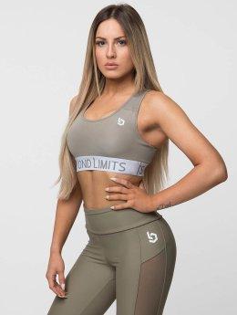 Beyond Limits | Free Motion kaki Femme Soutiens-gorge de sport